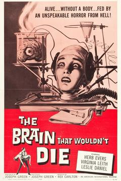 Best Science Fiction Movies of 1962 : The Brain That Wouldn't Die