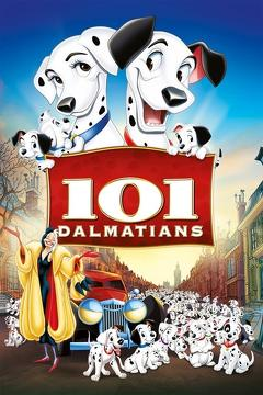 Best Family Movies of 1961 : One Hundred and One Dalmatians