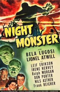 Best Horror Movies of 1942 : Night Monster