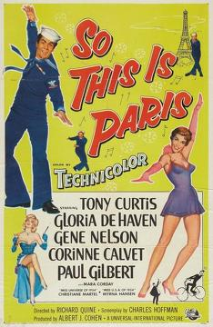 Best Romance Movies of 1954 : So This Is Paris
