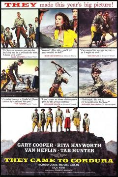 Best Western Movies of 1959 : They Came to Cordura
