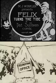 Best Animation Movies of 1922 : Felix Turns the Tide