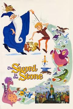 Best Animation Movies of 1963 : The Sword in the Stone