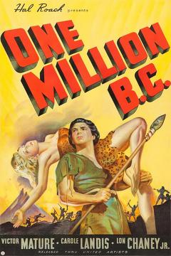 Best Horror Movies of 1940 : One Million B.C.