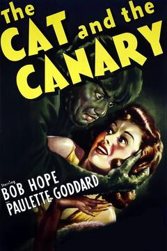 Best Comedy Movies of 1939 : The Cat and the Canary