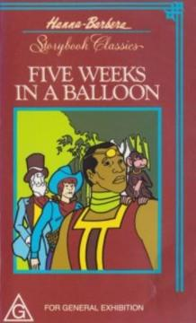 Best Animation Movies of 1977 : 5 Weeks in a Balloon