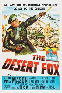 Best Action Movies of 1951 : The Desert Fox: The Story of Rommel