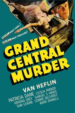 Best Mystery Movies of 1942 : Grand Central Murder