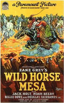 Best Western Movies of 1925 : Wild Horse Mesa