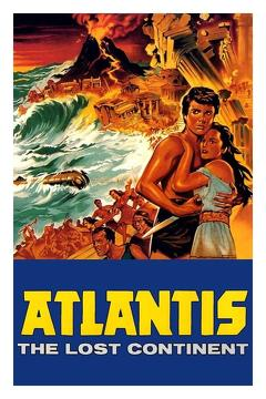Best Adventure Movies of 1961 : Atlantis: The Lost Continent