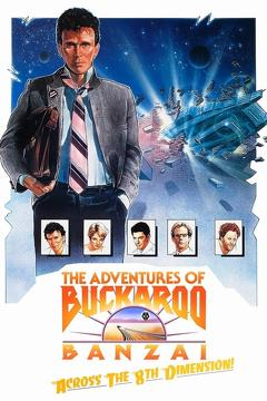 Best Adventure Movies of 1984 : The Adventures of Buckaroo Banzai Across the 8th Dimension