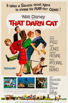 Best Family Movies of 1965 : That Darn Cat!