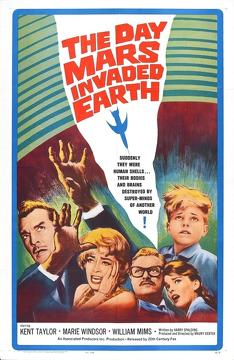Best Science Fiction Movies of 1963 : The Day Mars Invaded Earth