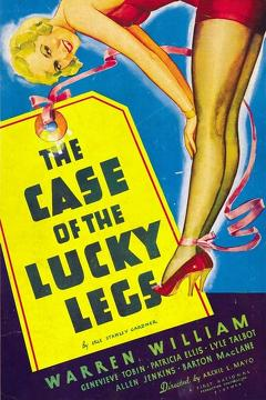 Best Crime Movies of 1935 : The Case of the Lucky Legs