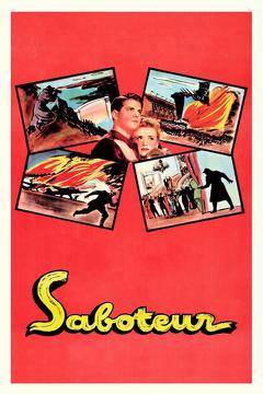 Best Thriller Movies of 1942 : Saboteur