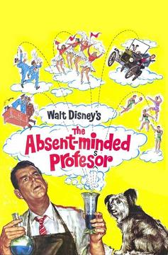 Best Comedy Movies of 1961 : The Absent-Minded Professor