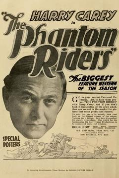 Best Western Movies of 1918 : The Phantom Riders