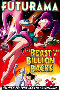 Best Tv Movie Movies of 2008 : Futurama: The Beast with a Billion Backs