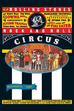 Best Music Movies of 1968 : The Rolling Stones Rock and Roll Circus
