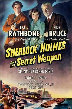 Best Action Movies of 1942 : Sherlock Holmes and the Secret Weapon