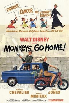 Best Family Movies of 1967 : Monkeys, Go Home!