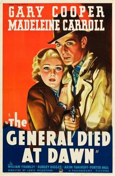 Best Action Movies of 1936 : The General Died at Dawn