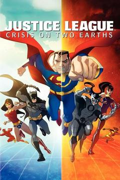 Best Animation Movies of 2010 : Justice League: Crisis on Two Earths