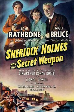 Best Crime Movies of 1942 : Sherlock Holmes and the Secret Weapon