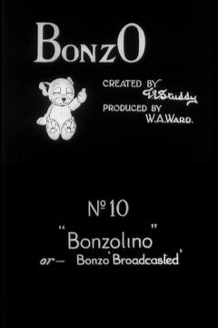 Best Animation Movies of 1925 : Bonzolino or – Bonzo Broadcasted