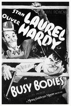 Best Comedy Movies of 1933 : Busy Bodies