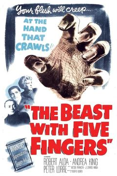 Best Horror Movies of 1946 : The Beast with Five Fingers