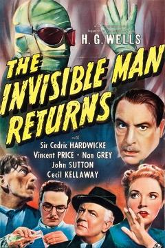 Best Horror Movies of 1940 : The Invisible Man Returns