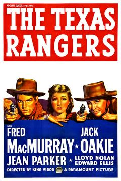 Best Western Movies of 1936 : The Texas Rangers