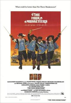 Best Adventure Movies of 1974 : The Four Musketeers