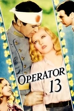Best War Movies of 1934 : Operator 13