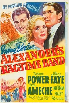 Best Drama Movies of 1938 : Alexander's Ragtime Band