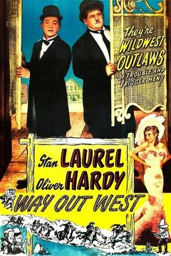 Best Western Movies of 1937 : Way Out West