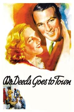 Best Drama Movies of 1936 : Mr. Deeds Goes to Town
