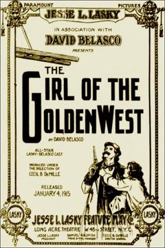 Best Western Movies of 1915 : The Girl of the Golden West