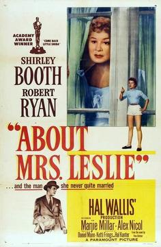 Best Romance Movies of 1954 : About Mrs. Leslie