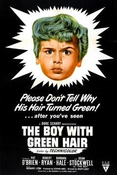 Best Family Movies of 1948 : The Boy with Green Hair