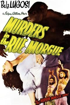 Best Horror Movies of 1932 : Murders in the Rue Morgue