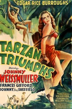 Best Adventure Movies of 1943 : Tarzan Triumphs
