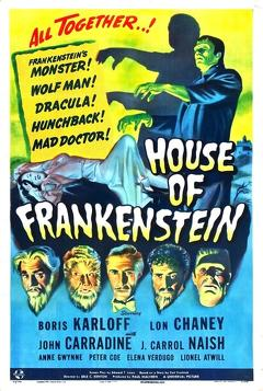 Best Science Fiction Movies of 1944 : House of Frankenstein