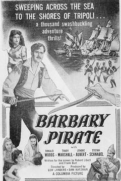 Best Adventure Movies of 1949 : Barbary Pirate