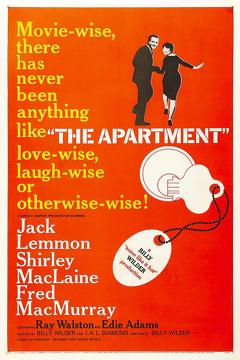 Best Comedy Movies of 1960 : The Apartment