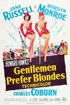 Best Movies of 1953 : Gentlemen Prefer Blondes