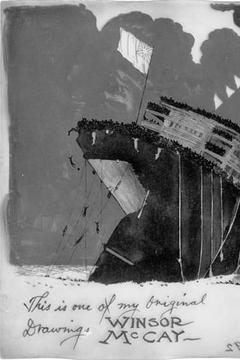 Best Animation Movies of 1918 : The Sinking of the Lusitania