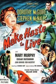 Best Mystery Movies of 1954 : Make Haste to Live