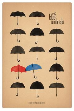 Best Animation Movies of 2013 : The Blue Umbrella